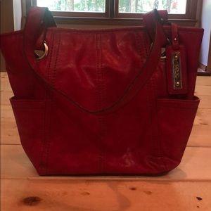 Cherry Pink purse.